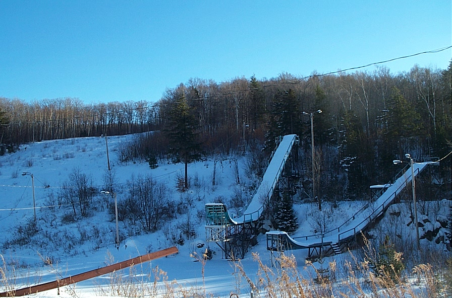 Old Ski Resort Mountain Abandoned