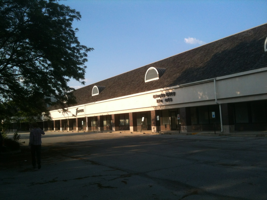 Abandoned Strip Mall Indiana