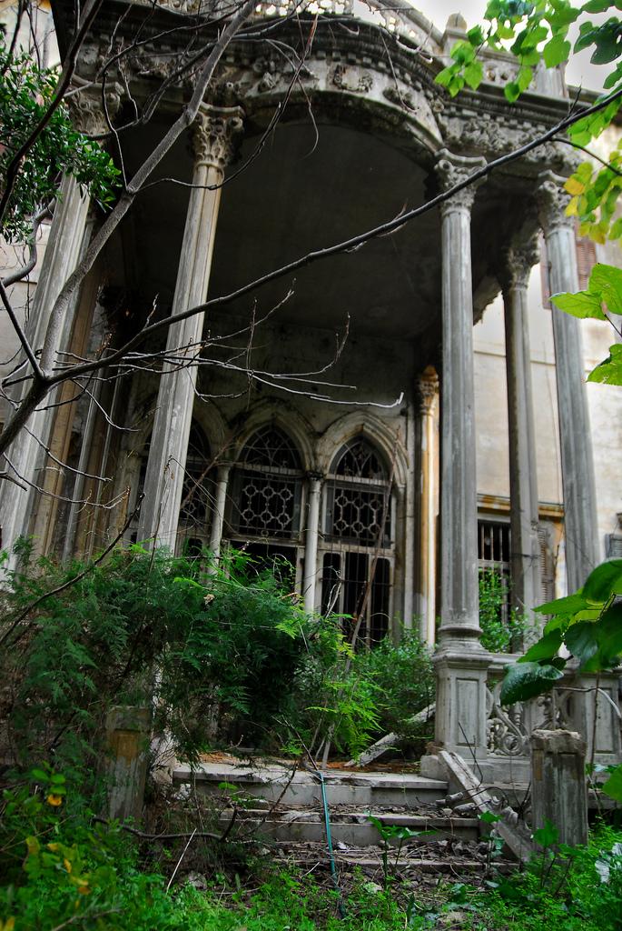 Abandoned Mansion Beirut Lebanon