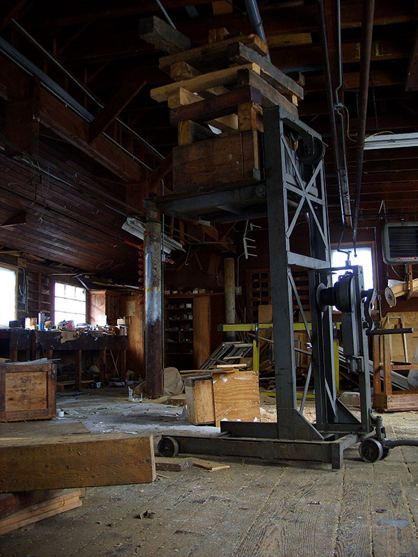 Abandoned Woolen Mill Maine 2