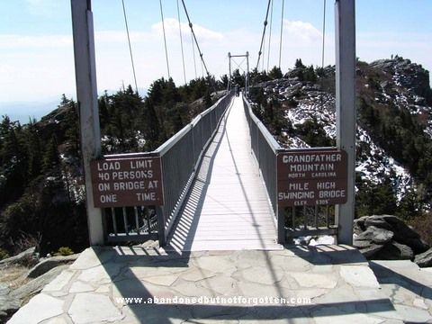 Pictures Of Grandfather Mountain And Mile High Swinging Bridge