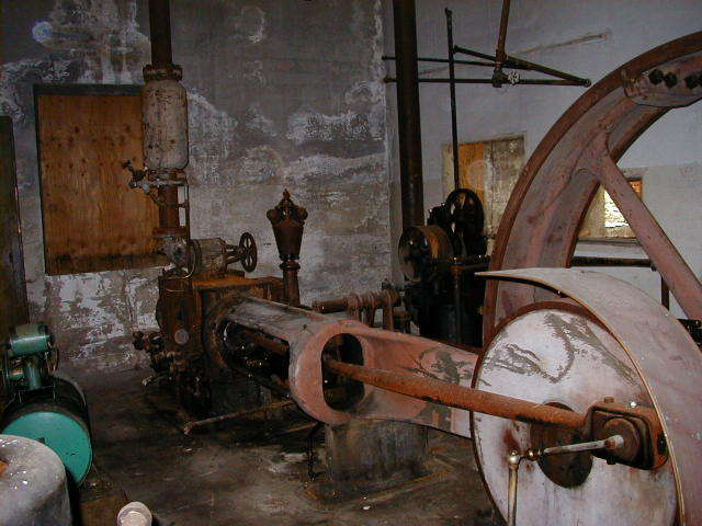 Abandoned Excelsior Mill in Wolfeboro Falls, New Hampshire