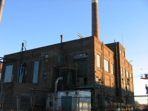 The Gaf Power Plant In Gloucester City Nj