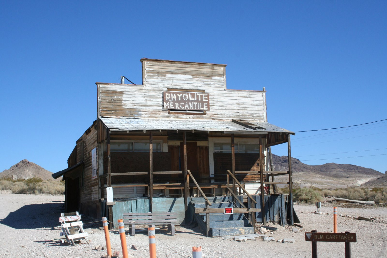 Ghost Town Of Rhyloite Nv