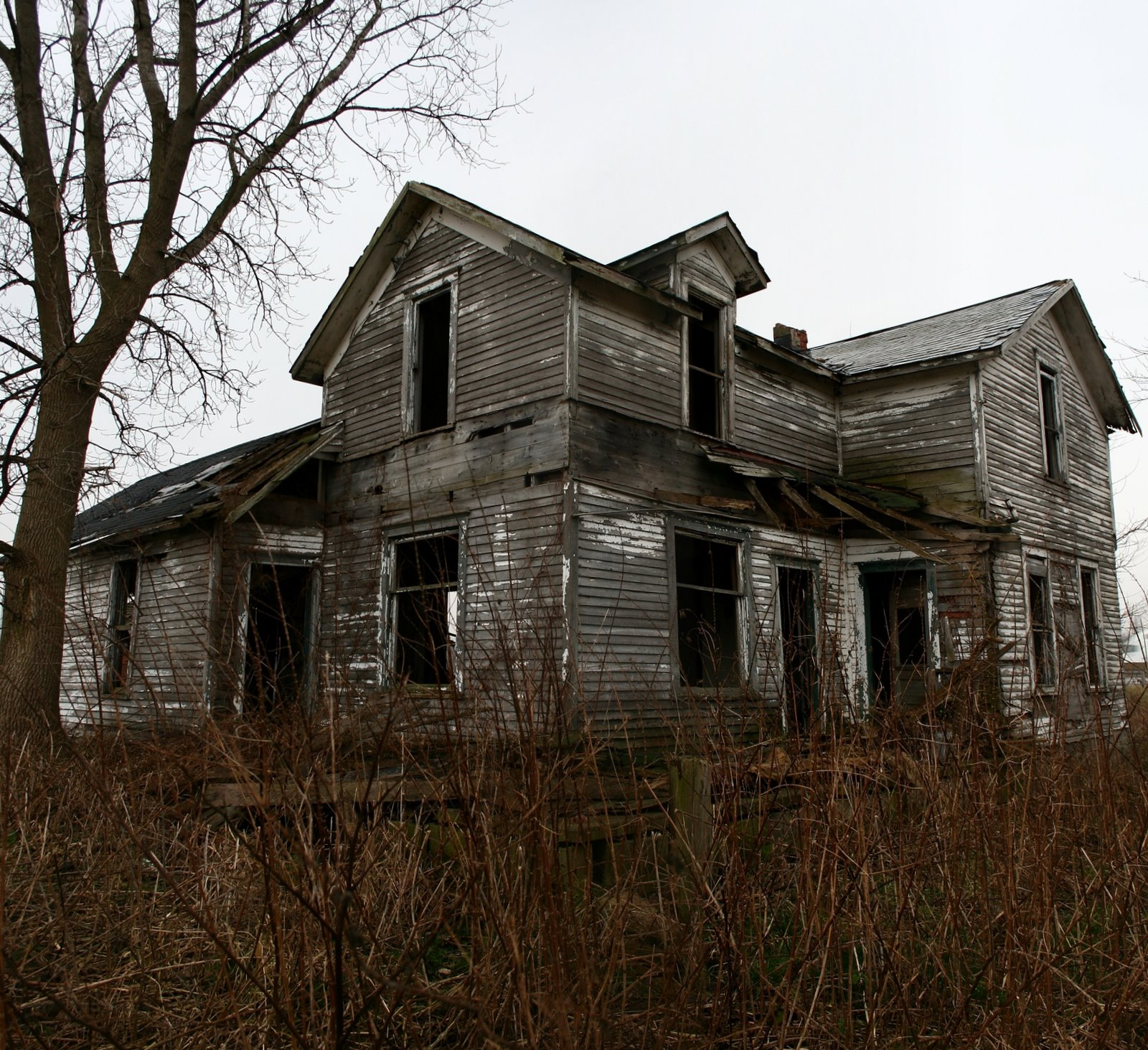 Creepy Abandoned Places In Denver: Abandoned House Near Fremont, OH