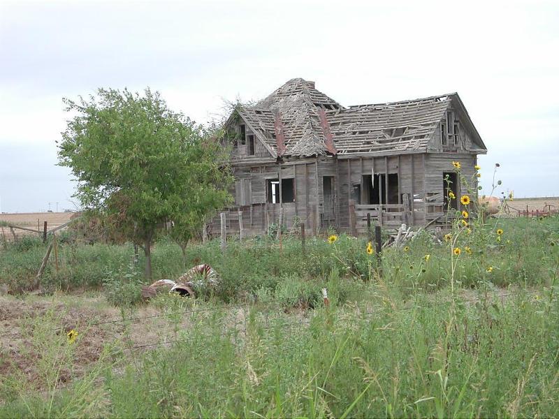 Abandoned Farmhouse Walters Ok