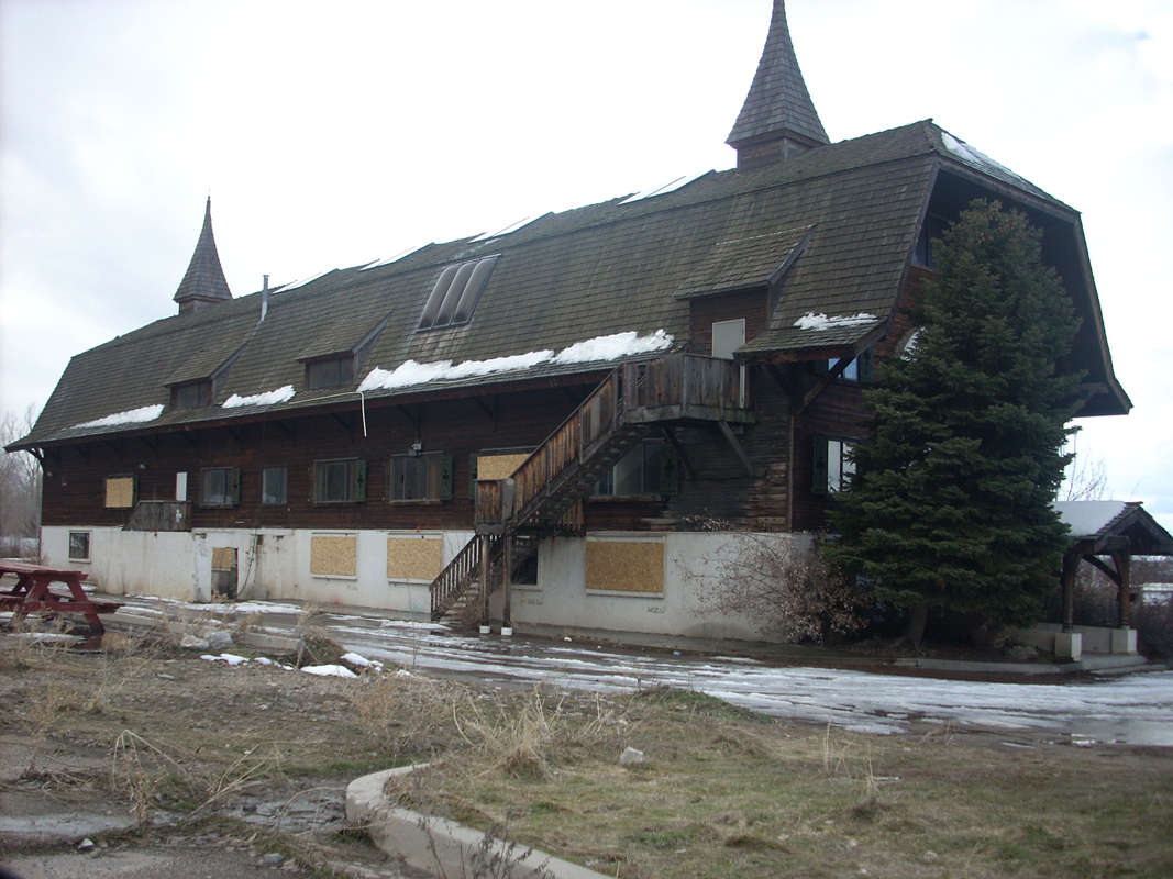 Abandoned Heritage Mountain Resort In Provo Utah